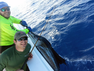 Jeff with Sailfish