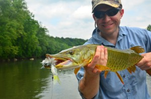 James River Musky with Matt Miles