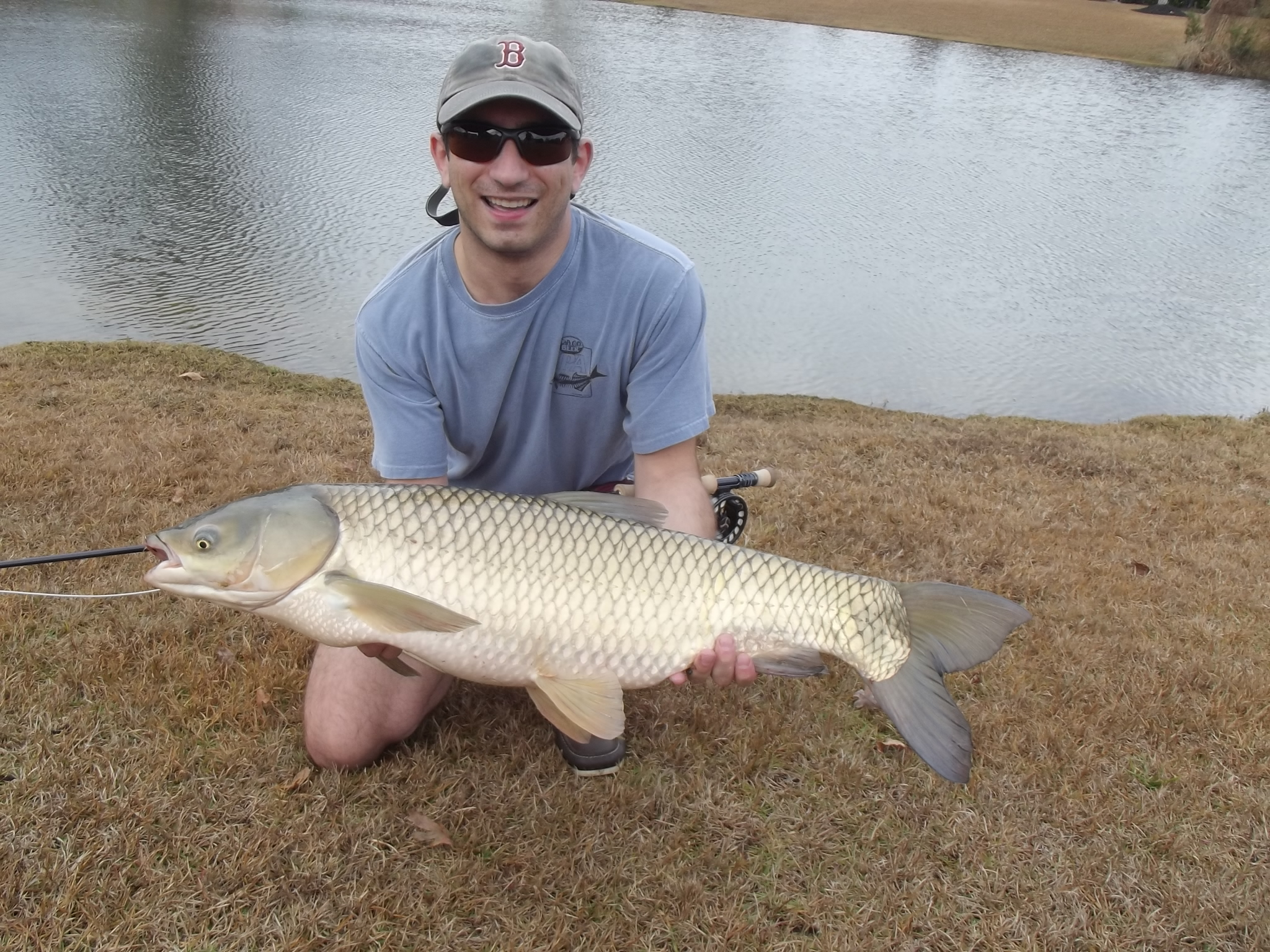 How to fly fishing for grass carp find the fishing for Fly fishing carp