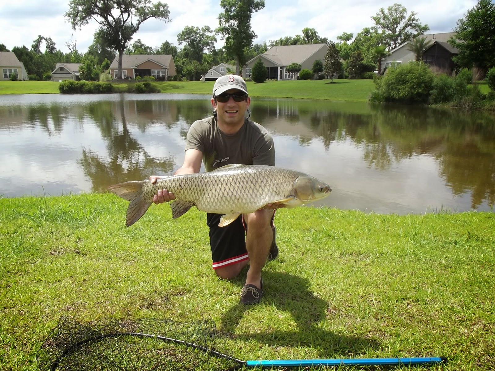 How to fly fishing for grass carp find the fishing for Grass carp fish
