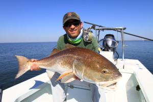 Redfish on the fly